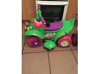Children's electric quad bike