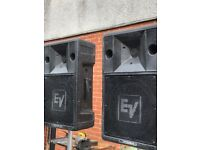 Electrovoice Stage 200s PA Speakers