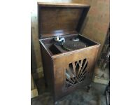 Edison Bell antique gramophone