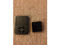 2 X iPods for spare parts or repair
