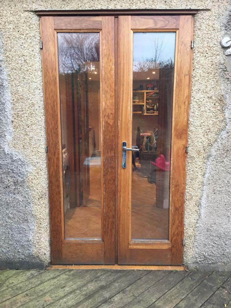 Solid Oak Glazed French Doors With Frame In Headington Oxfordshire Gumtree