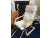 Children's sized 'poang' Ikea chair