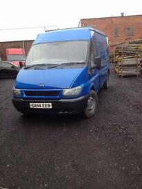 FORD TRANSIT HIGH ROOF FULL YEAR MOT ONLY 1600£!!!!