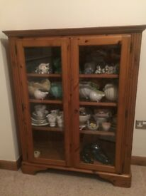 Ducal Victoria Collector's Cabinet in Excellent Condition