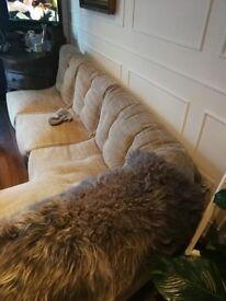 Ambient Lounge L shaped lush sofa