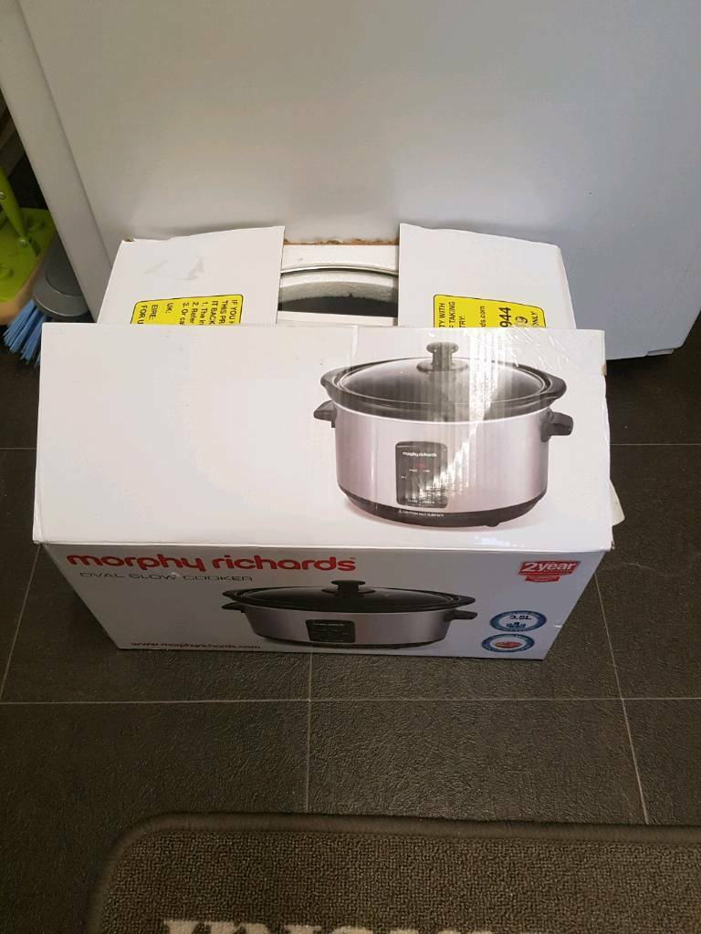 Slow cooker still in box for sale.
