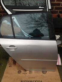 Complete mk5 golf gti rear drivers door