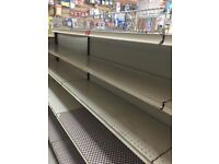 bargain,metal shelving ,shop shelving gondola,difference sizes,2x JTI tobaco gantry perfect working