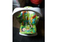 Portable Fisher-Price Rainforest Take-Along Swing & Seat