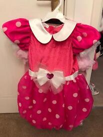 Disney Store Minnie Mouse Dress-Up (age 7-8)