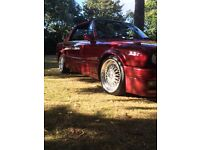 E30 convertible 318i converted to 325i featured in total bmw magazine