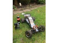 Rc baja 5b 1.5 scale with upgrades