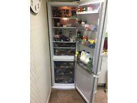 White Fridge/Freezer good condition