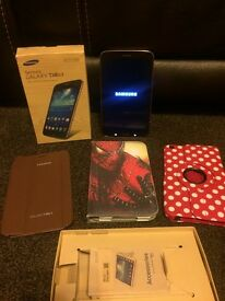 SAMSUNG GALAXY TAB3 TABLET GOLD BROWN 16GB PERFECT CONDITION WITH BOX