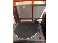 jvc auto return turntable record player,plays 33 rpm & 45 rpm,excellent with original box,only £75