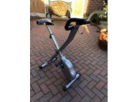 Exercise Bike, fold away, with resistance an monitor