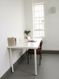 Studio desk space Cheap & shared with 3 creatives Peckham, London illustrator graphic design artist