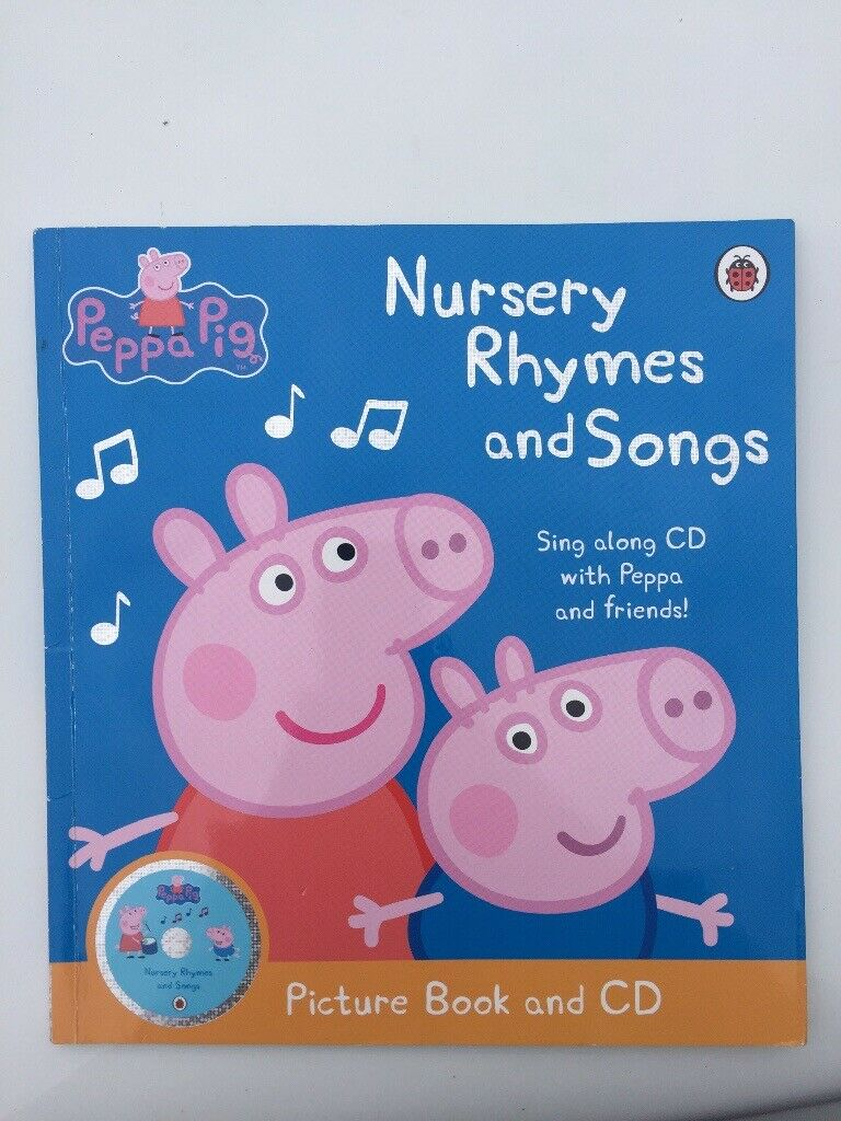 Peppa Pig Cd And Lyrics To Nursery Rhymes Book Toy Children S Toys In Needham Market Suffolk Gumtree