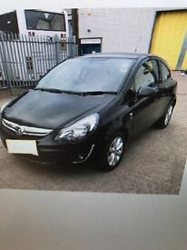 Vauxhall Corsa 1.2 Excite 3 Door 2014 plate Ready to go now!