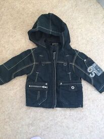 Immaculate baby boys next coat 6-9 montjs