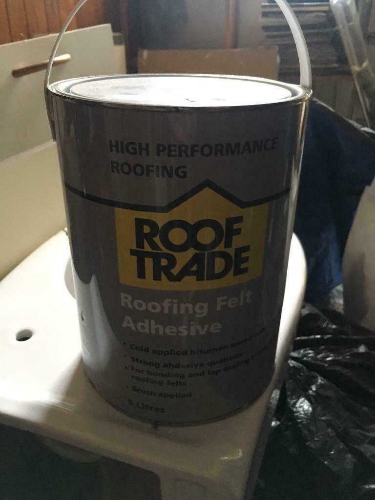 ROOF TRADE. ROOFING FELT ADHESIVE. 5L | in Newcastle, Tyne ...