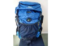 CRAG HOPPERS RUCKSACK DP 45 litres - BRAND NEW - Great for travelling DRI PAC technology