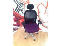 2 HYDROLIC SWIVEL POSTURE PERFORMANCE OFFICE CHAIRS £125 EACH