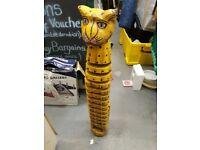 CD rack - wooden Tiger