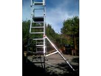 Massive step ladder