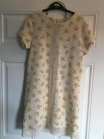 Next branded age 12 dress with belt (new with tags)