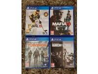 PS4 Games x4