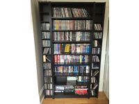 IKEA Bookcase and 2 Shelving units - ideal for CDs and DVDs
