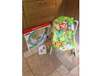 FISHER PRICE Rainforest Friends Infant To Toddler Bouncer