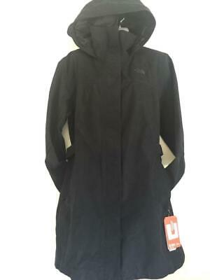 NWT $180 THE NORTH FACE WOMEN'S Laney II Waterproof Trench Rain Coat Black Small