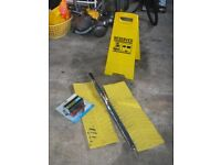 MOTORCARAVAN ITEMS - POWER INVERTOR RESERVED PITCH SIGN + MORE