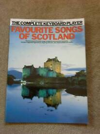 The Complete Keyboard -Favourite Songs of Scotland.