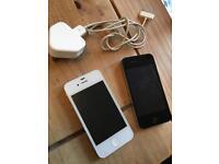 Apple I-Phone 4 (Qty 2)