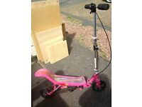 Girls space scooter hardly used