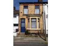Buckland Street, Aigburth L17 - three bed terraced house to let in much sought after area
