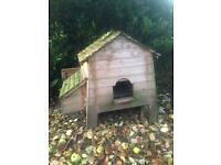 Two chicken coop huts moved house and don't want them