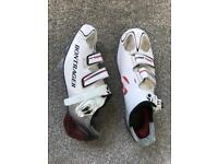 Women's Bontrager road cycle shoes