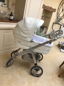 Bebecar pram / pushchair / car chair from newborn paid over £1000!