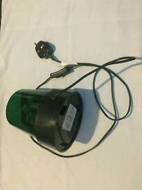 Green rotating party light