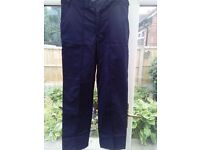 Mens work pants.New without the tags.96cm/38inches 2 pairs.