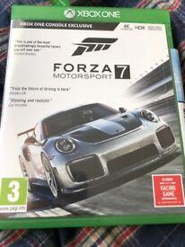 Xbox one forza 7 motorsport