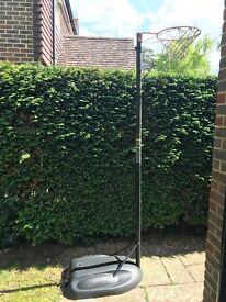 Freestanding Netball Hoop