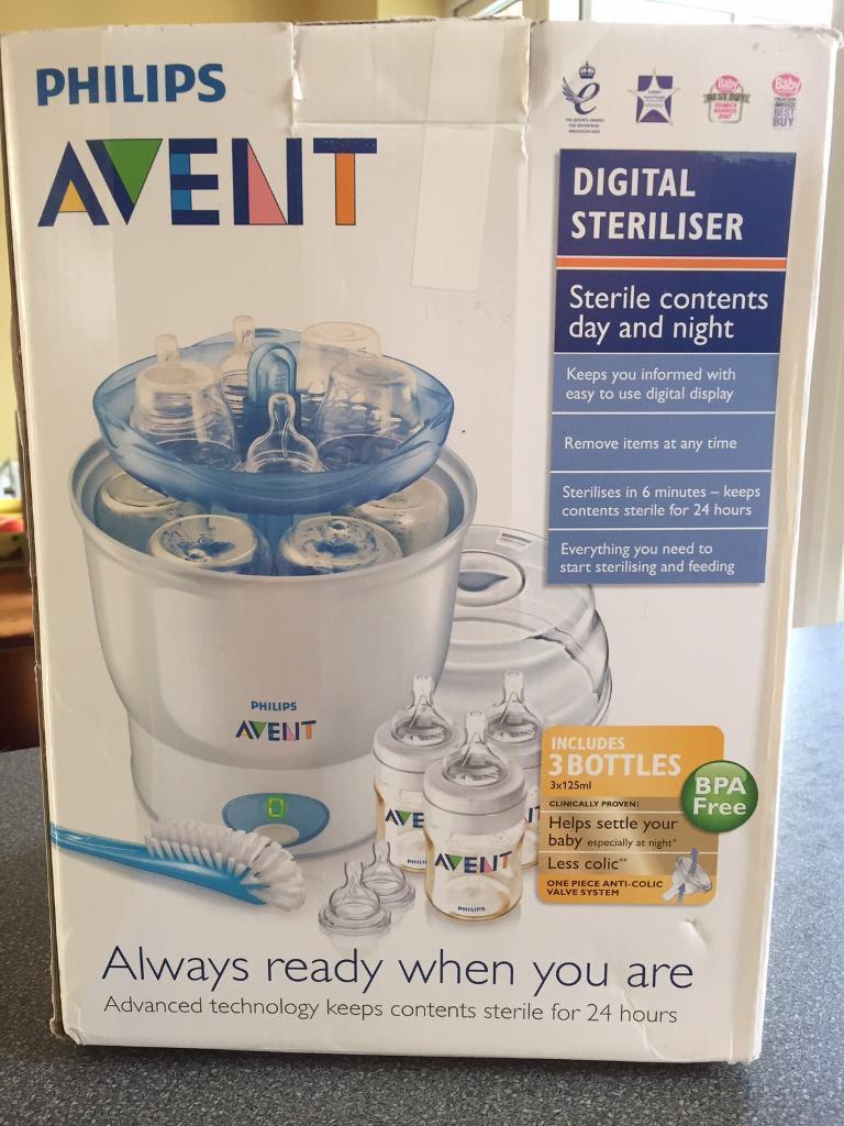 Philips Avent digital steam steriliser