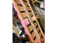 Garage Clearance Free Wood, Pallets x4 plus other Wood and Old Kitchen Carcasses