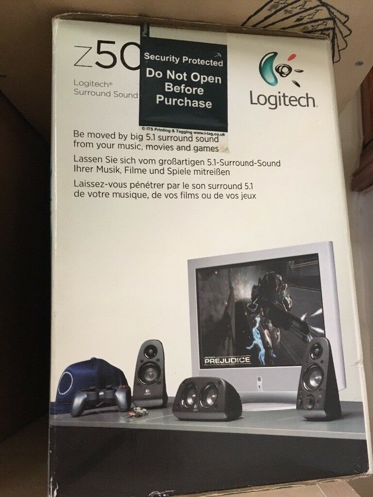 Logitech Z506 - 5.1 speakers