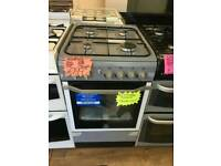 INDESIT 50CM GAS SINGLE OVEN COOKER IN GREY ☆BRAND NEW ☆